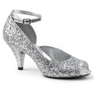 Hopea Kimallus 7,5 cm BELLE-381G naisten avokärkiset avokkaat kengät