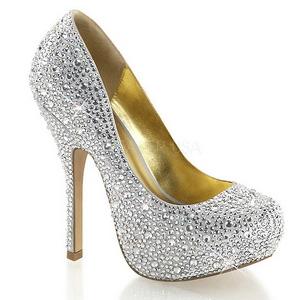 Hopea Kimaltelevia Kiviä 13,5 cm FELICITY-20 naisten kengät korkeat korko