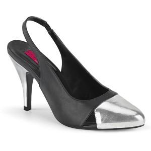 Keinonahka 10 cm DREAM-405 slingback kengät miehellä