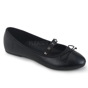 Keinonahka DEMONIA DRAC-07 ballerinat matalat kengät