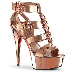 Kulta Keinonahka 15 cm DELIGHT-658 korokepohja pleaser kengät