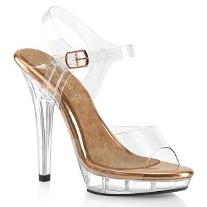 Läpinäkyvä 13 cm LIP-108 bikini kuntosali kengät - bikini fitness kisakengät ja kengät