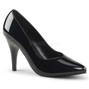 Musta Lakatut 10 cm DREAM-420 naisten avokkaat korkokengät