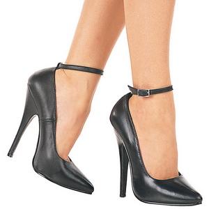 Musta Lakatut 15,5 cm DOMINA-431 Pumps Naisten Avokkaat Kengät