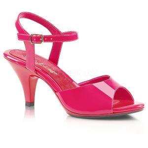 Pinkki Lakatut 8 cm BELLE-309 Naisten Sandaletit Korkea