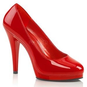 Punaiset 11,5 cm FLAIR-480 naisten kengät korkeat korko
