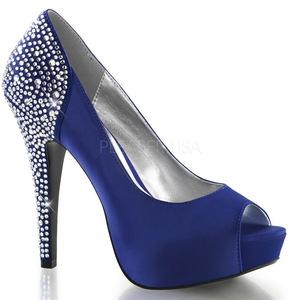 Sininen Kristalli 13 cm LOLITA-08 Naisten juhlakengät