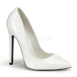 Valkoinen Lakatut 13 cm SEXY-20 Pumps Naisten Kengät