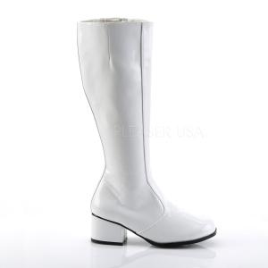 Valkoinen Lakka 5 cm FUNTASMA GOGO Naisten Saappaat