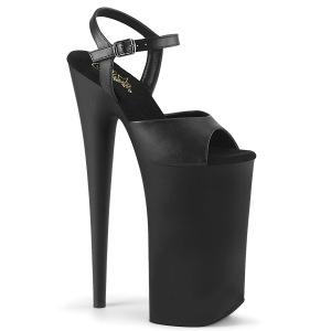 Vegaaniset 25,5 cm BEYOND-009 platform korkeakorkoiset kengät - todella korkeat korot