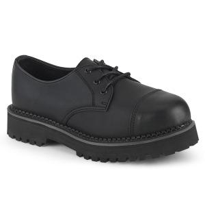 Vegan RIOT-03 demonia punk kengät - unisex teräs kengät