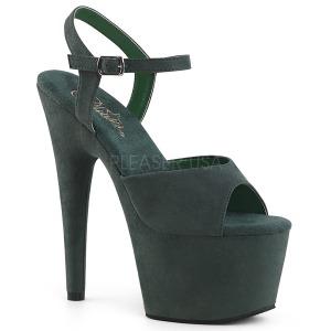 Vihreä Keinonahka 18 cm ADORE-709FS naisten korkosandaalit