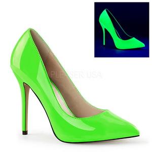 Vihreä Neon 13 cm AMUSE-20 Avokkaat Kengät Piikkikorko