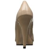Beige Lakatut 11,5 cm FLAIR-480 naisten avokkaat kengät miehille
