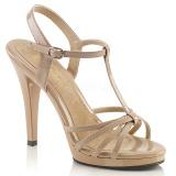 Beige Lakatut 12 cm FLAIR-420 Naisten Sandaletit Korkea
