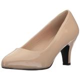 Beige Lakatut 8 cm DIVINE-420W Naisten kengät avokkaat