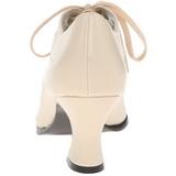Beige Matta 7 cm VICTORIAN-03 Pumps Naisten Kengät