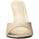 Beiget 10 cm CLASSIQUE-01 naisten puukengät matalat
