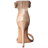 Beiget 13 cm Pleaser AMUSE-10 naisten korkosandaalit