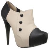 Beiget Keinonahka 13,5 cm CHLOE-11 suuret koot avokkaat kengät