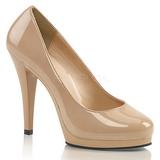 Beiget Lakatut 11,5 cm FLAIR-480 naisten avokkaat kengät miehille