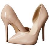 Beiget Lakatut 13 cm AMUSE-22 klassiset avokkaat kengät naisten