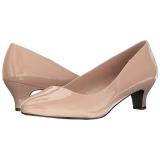 Beiget Lakatut 5 cm FAB-420W Naisten kengät avokkaat