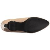 Beiget Lakatut 8 cm DIVINE-420W Naisten kengät avokkaat