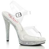Bling bling kengät 12,5 cm GLORY-508DM korolliset kengät platform