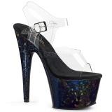 Hologrammi 18 cm Pleaser ADORE-708HSP tankotanssi kengät