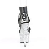 Hopea 18 cm ADORE-700-14LG Glitter platform korkeakorkoiset sandaalit