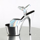 Hopea 18 cm ADORE-709HGCH Hologrammi platform korkokengät naisten