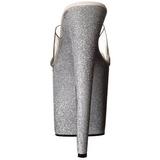 Hopea 20 cm Pleaser FLAMINGO-801SDG Glitter Platform Puukengät