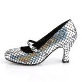 Hopea 7,5 cm MERMAID-70 avokkaat kengät alhainen korot