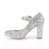 Hopea 9 cm SABRINA-07 avokkaat kengät paksu korko