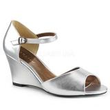 Hopea Keinonahka 7,5 cm KIMBERLY-05 suuret koot sandaalit naisten