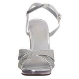 Hopea Kimalle 12 cm FLAIR-419G Naisten Sandaletit Korkea
