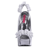 Hopea Satiini 14,5 cm Burlesque TEEZE-56 Korkeakorkoiset Kengät