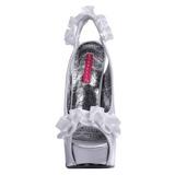 Hopea Satiini 14,5 cm TEEZE-56 Korkeakorkoiset Kengät
