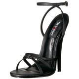 Keinonahka 15 cm DOMINA-108 fetissi piikkikorko sandaalit