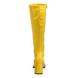 Keltainen Lakka 8,5 cm Funtasma GOGO-300 Naisten Saappaat