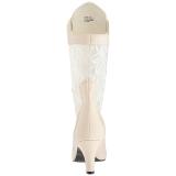 Kerma Keinonahka 7,5 cm DIVINE-1050 suuret koot nilkkurit naisten