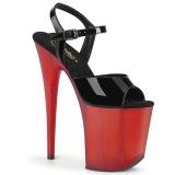 Kiiltonahka 20 cm FLAMINGO-809T korokepohja pleaser kengät
