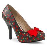 Kirsikka Kuvio 11,5 cm PINUP-05 suuret koot avokkaat kengät