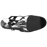 Kromi 25,5 cm BEYOND-009 platform korkeakorkoiset kengät - todella korkeat korot