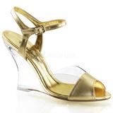 Kulta 10,5 cm LOVELY-442 Kiilakorkosandaalit Wedge Kengät