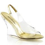 Kulta 10,5 cm LOVELY-450 Kiilakorkosandaalit Wedge Kengät