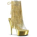 Kulta 15,5 cm DELIGHT-1017RSF naisten hapsuilla nilkkurit korkeat korko