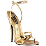 Kulta 15 cm DOMINA-108 fetissi piikkikorko sandaalit