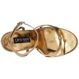 Kulta 15 cm Devious DOMINA-108 naisten korkosandaalit